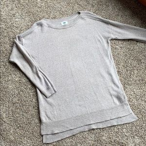 Old Navy Beige Tunic Sweater